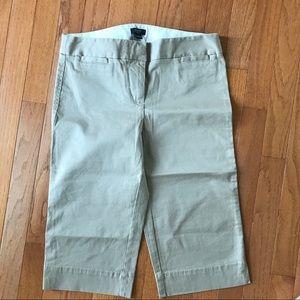 J.Crew Bermuda khaki chino short. Size 0. EUC.